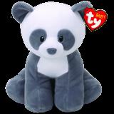 Mittens the Grey Panda Baby Ty Medium