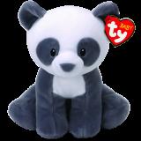 Mittens the Grey Panda Baby Ty