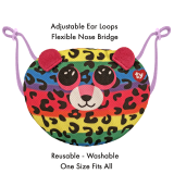 Dotty the Leopard Ty Mask