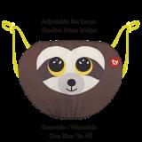 Dangler the Brown Sloth Ty Mask