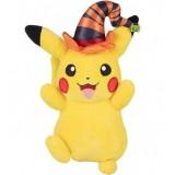 "Pokemon Pikachu Witch Hat 8"" Seasonal Halloween Plush"