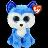 Prince the Blue Husky Medium Beanie Boo