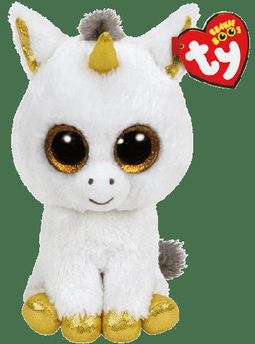 Pegasus the White Unicorn