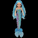 Indigo the Blue Mermaid Medium Sea Sequins Foil