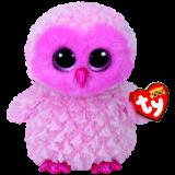 Twiggy the Pink Owl (medium)