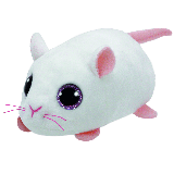 Anna the White Mouse (Teeny Tys)