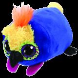 Diva the Multicoloured Parrot Teeny Tys