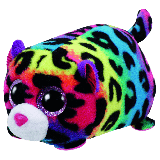 Jelly the Multi-Coloured Leopard (Teeny Tys)