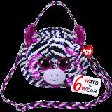 Zoey the Pink Zebra Sequin Purse