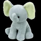 Bubbles the Grey Elephant Baby Ty