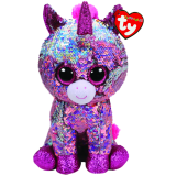 Sparkle the Pink Unicorn Medium Flippable