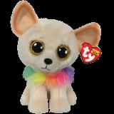 Chewey the Cream Chihuahua Medium Beanie Boo