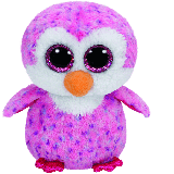 Glider the Pink Penguin (medium)