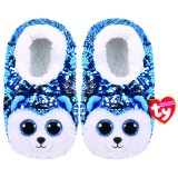 Slush the Dog Sequin Slippers Medium