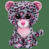 Tasha the Pink & Grey Leopard (medium)