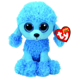 Mandy the Blue Poodle (medium)