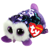 Moonlight the Purple Owl Sequin Teeny Tys