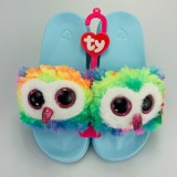 Owen the Multicoloured Owl Slides Medium