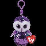 Moonlight the Purple Owl Clip Flippable
