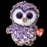 Moonlight the Purple Owl Regular Beanie Boo