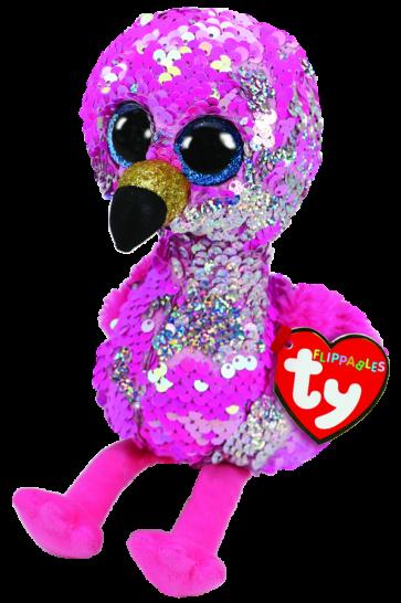 Pinky the Pink Flamingo Regular Flippable
