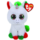 Candy Cane the Unicorn Christmas Regular Beanie Boo