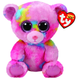 Beanie Boos Regular Frankie - Multicoloured Bear
