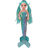Azure the Mermaid Medium Sea Sequins Foil