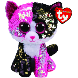 Malibu the Pink & Black Cat Regular Flippable