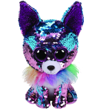 Yappy the Blue & Purple Chihuahua Regular Flippable