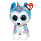 Helena the Husky with Horn Regular Beanie Boo