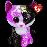 Malibu the Pink & Black Cat Medium Flippable