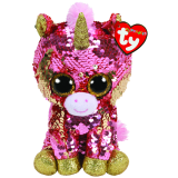 Sunset the Coral Unicorn Regular Flippable