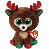 Fudge the Reindeer Christmas Regular Beanie Boo