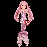 Cora the Pink Mermaid Medium Sea Sequins Foil
