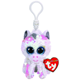 Diamond the White Unicorn Clip Flippable