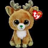 Glitzy the Reindeer Christmas Regular Beanie Boo