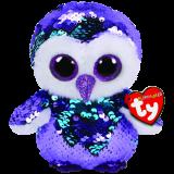 Moonlight the Purple Owl Regular Flippable