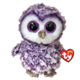 Moonlight the Purple Owl Regular Beanie Boo