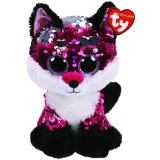 Jewel the Pink Fox Medium Flippable