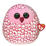 Pinky the Owl Small Squish-A-Boos