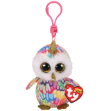 Enchanted the Owl with Horn Clip Beanie Boo