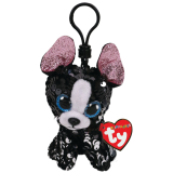 Portia the Black and White Terrier Clip Flippables