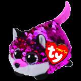 Jewel the Pink Fox Sequin Teeny Tys