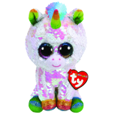 Pixy the White Unicorn Regular Flippable