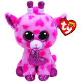 "Sweetums the Giraffe Valentine's Day regular"" Beanie Boo"""