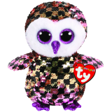 Checks the Checkered Owl Regular Flippables