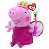 Peppa Pig Princess Peppa Regular Beanie Babies