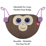 Coconut the Monkey Ty Mask