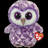 Moonlight the Purple Owl Medium Beanie Boo